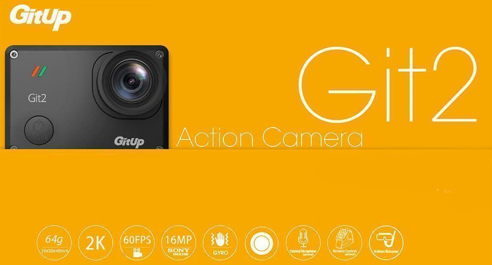 gitup git 2 pro accesorios