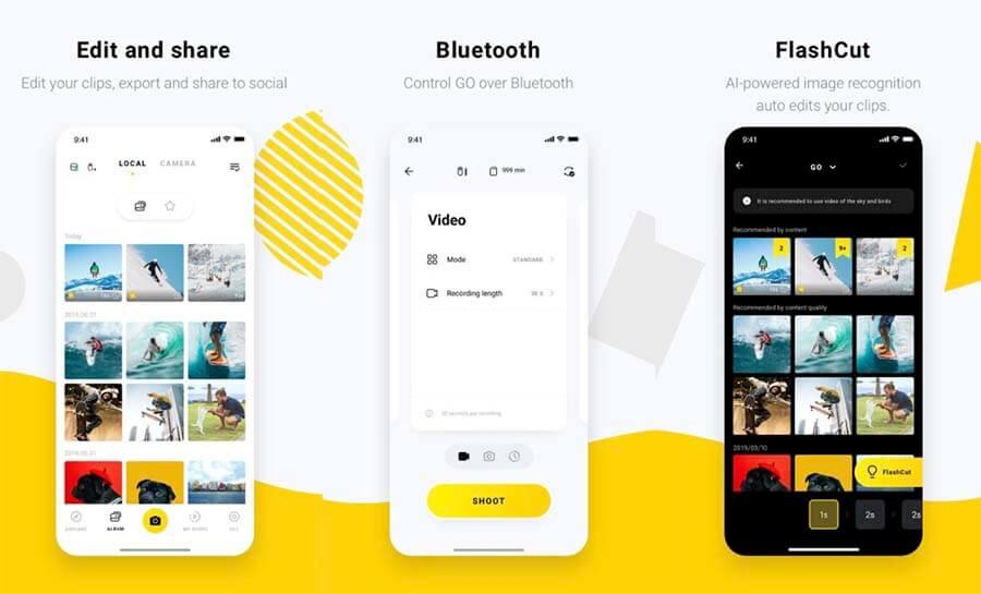 insta360 go app para smartphones android ios
