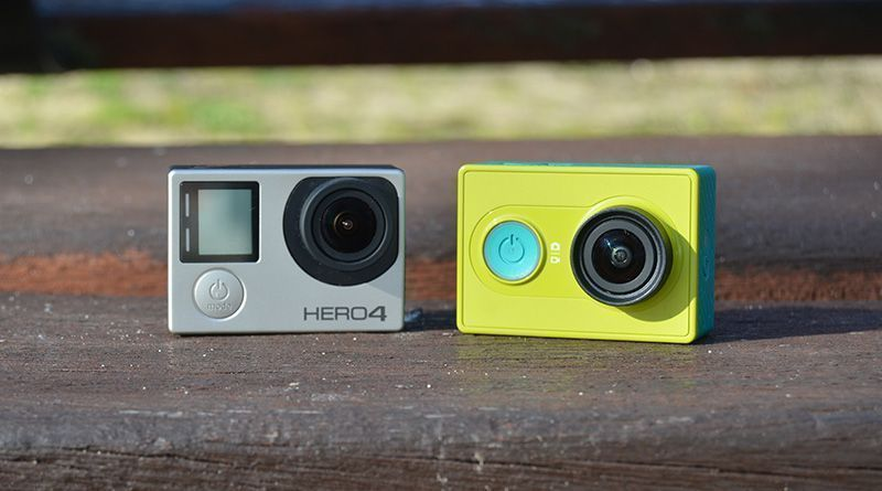 GoPro Hero 4 vs Xiaomi Yi Action