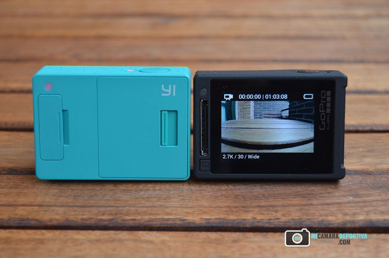 GoPro Hero 4 Silver vs Xiaomi Yi Action