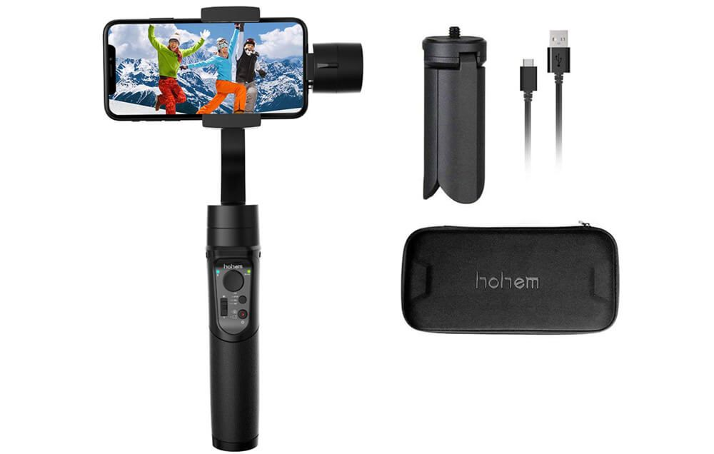 gimbal para smartphone hohem isteady mobile