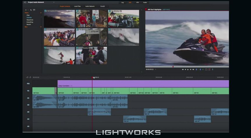 lightworks edicion video