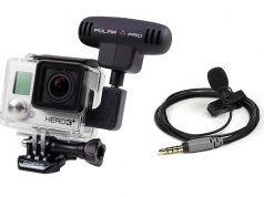micrófonos para cámaras deportivas