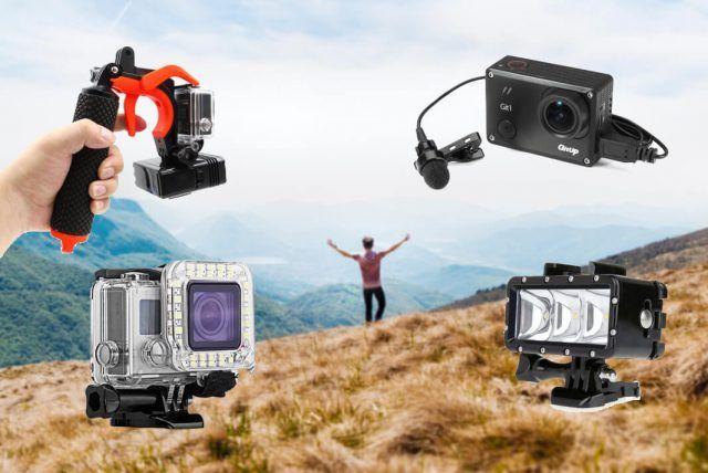 accesorios originales para cámaras deportivas gopro