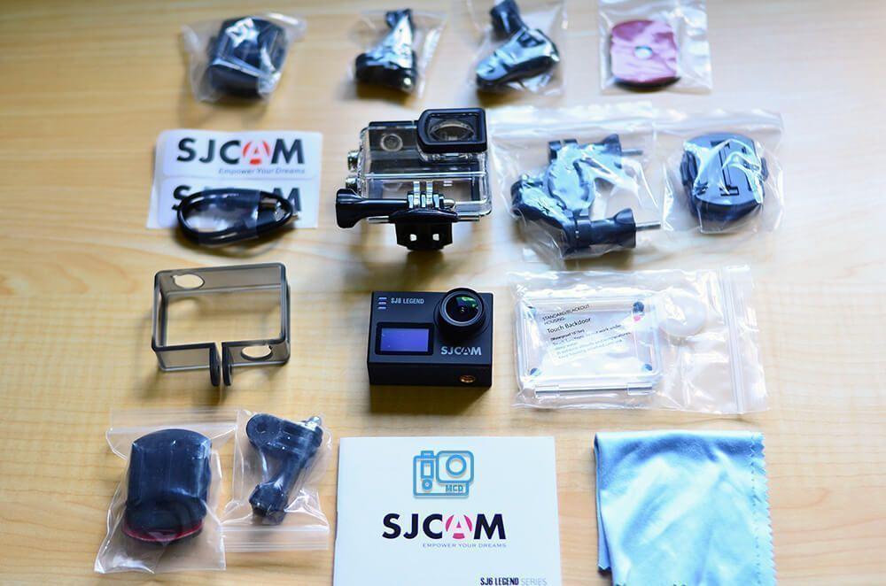 sjcam sj6 legend accesorios