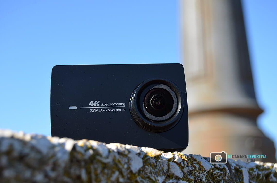 mejores cámaras deportivas baratas Yi II 4K