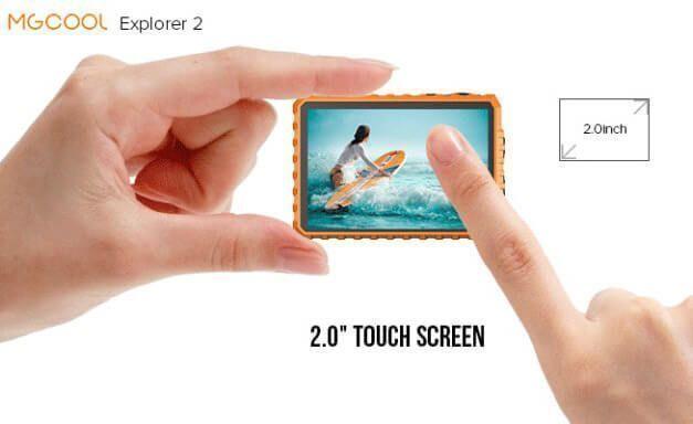 mcgool explorer 2c pantalla táctil