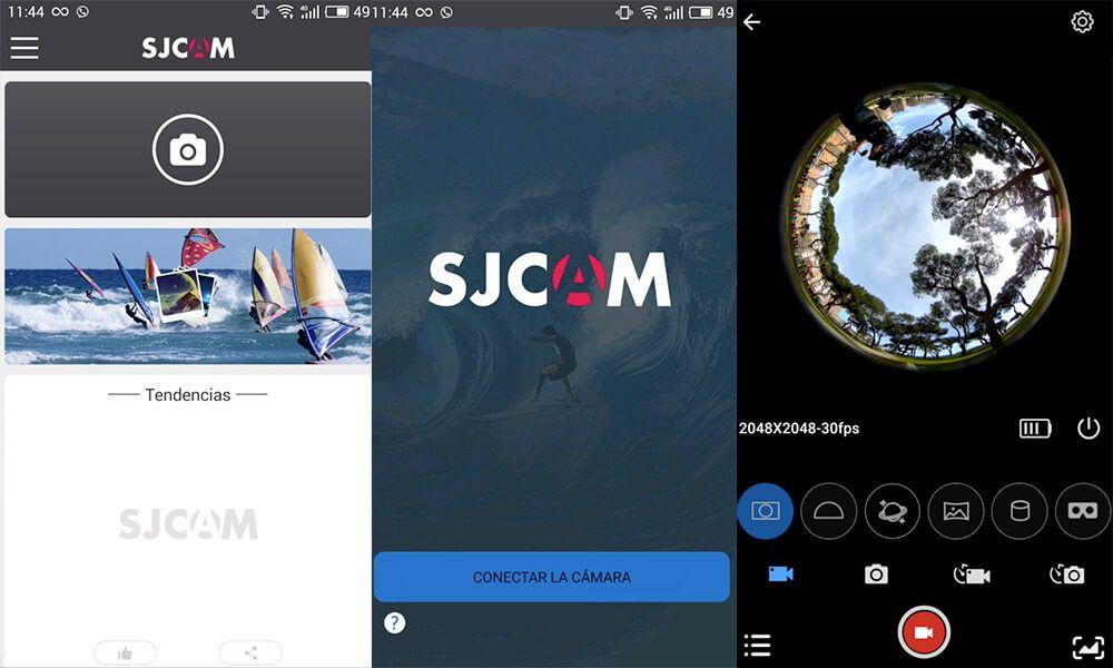 apps para cámaras deportivas sjcam
