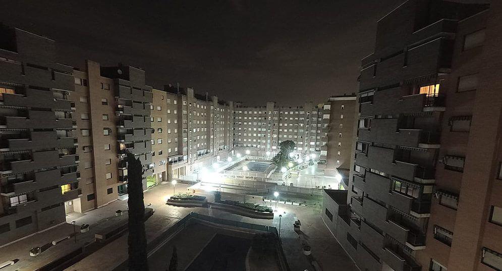 foto nocturna sj6 legend vs yi ii 4k