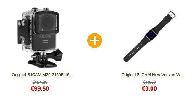 MgCool vs Elephone sjcam m20