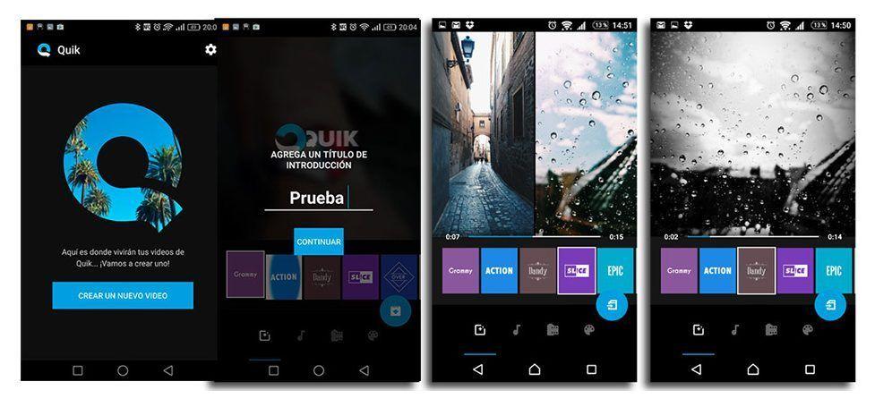 trucos gopro app quik