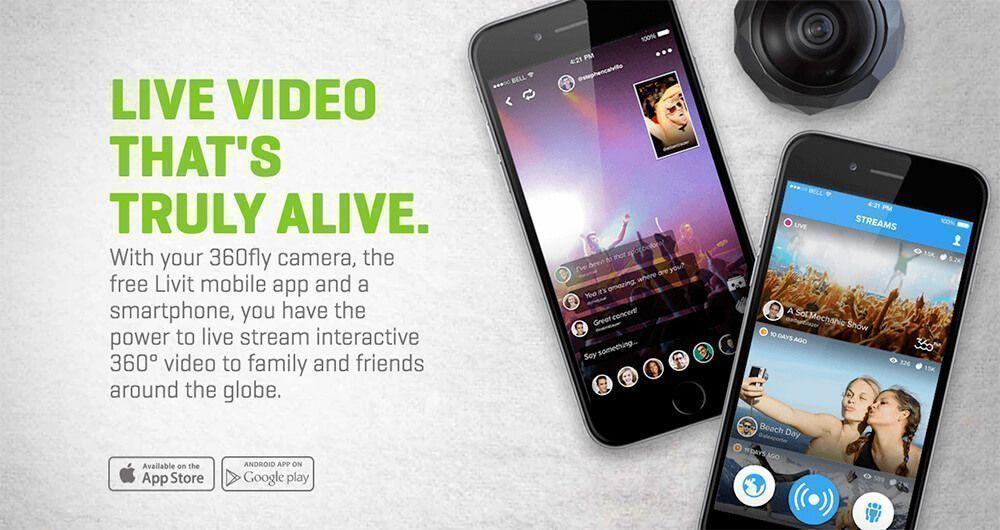 app 360fly 4k