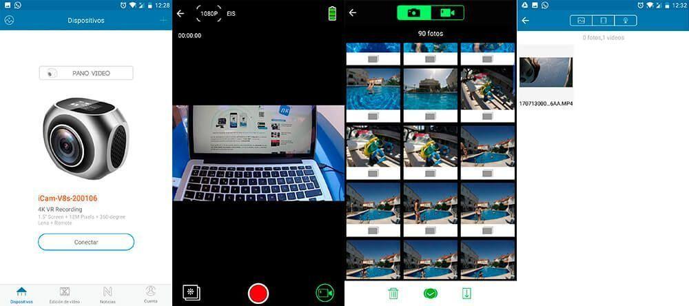 eken h6s 4k app