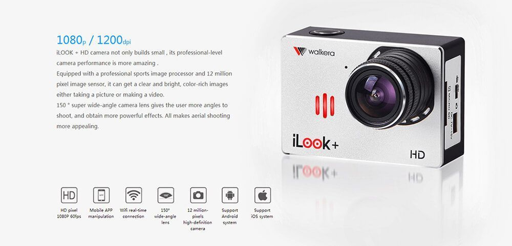 walkera ilook plus camera review