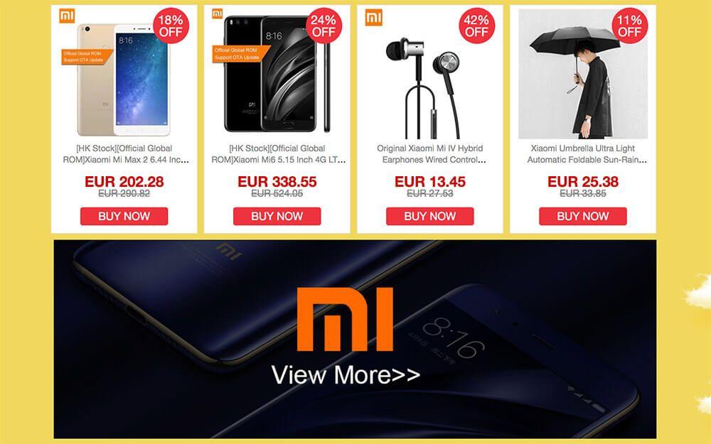 fall sale geekbuying ofertas