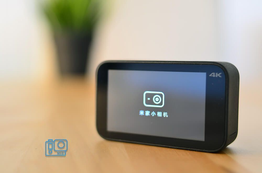 xiaomi yi action camera mijia 4k pantalla