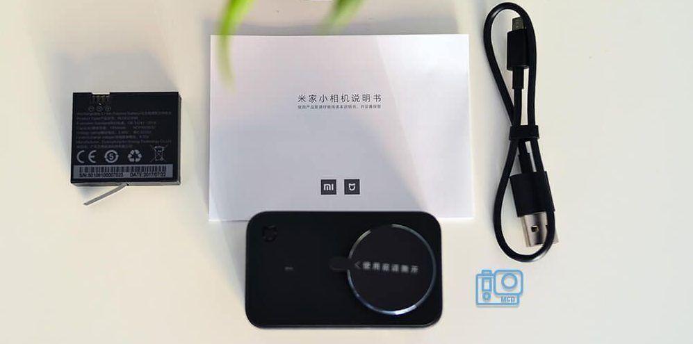 accesorios xiaomi mijia 4k action camera