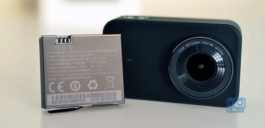 accesorios xiaomi mi action camera 4k bateria