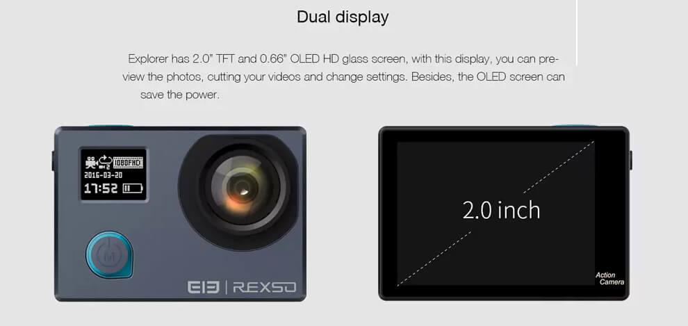 rexso 4k dual pantalla oled