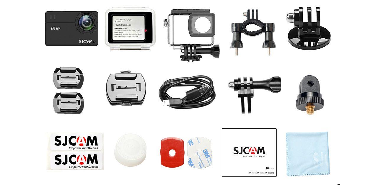 sjcam sj8 pro accesorios