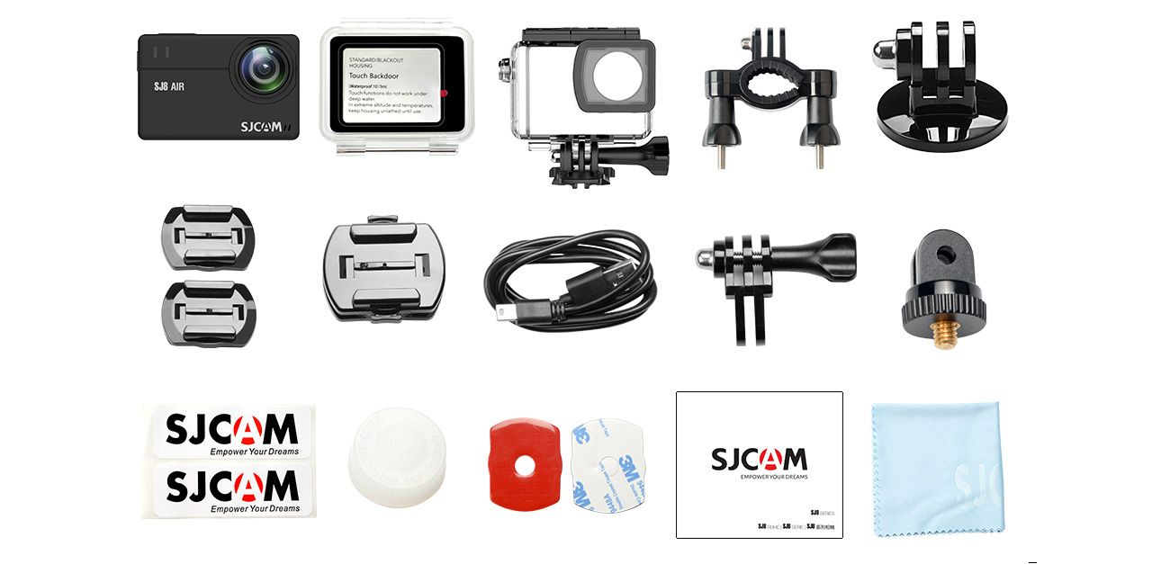 sjcam sj8 air accesorios