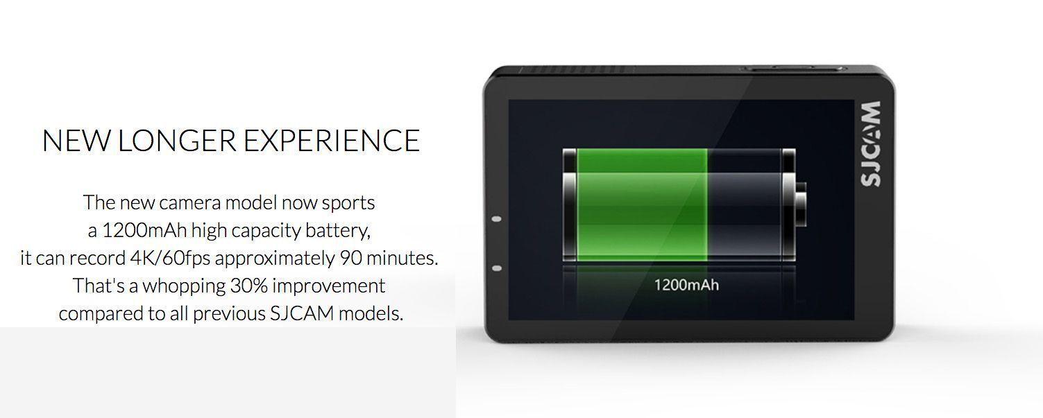 bateria sjcam sj8 pro 4k 60fps