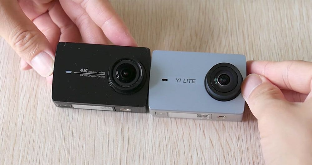 video xiaomi yi lite