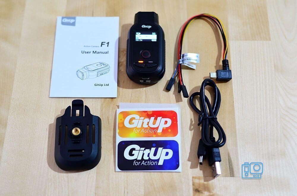 accesorios gitup f1 4k action camera