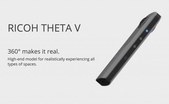 ricoh theta v 4k 360