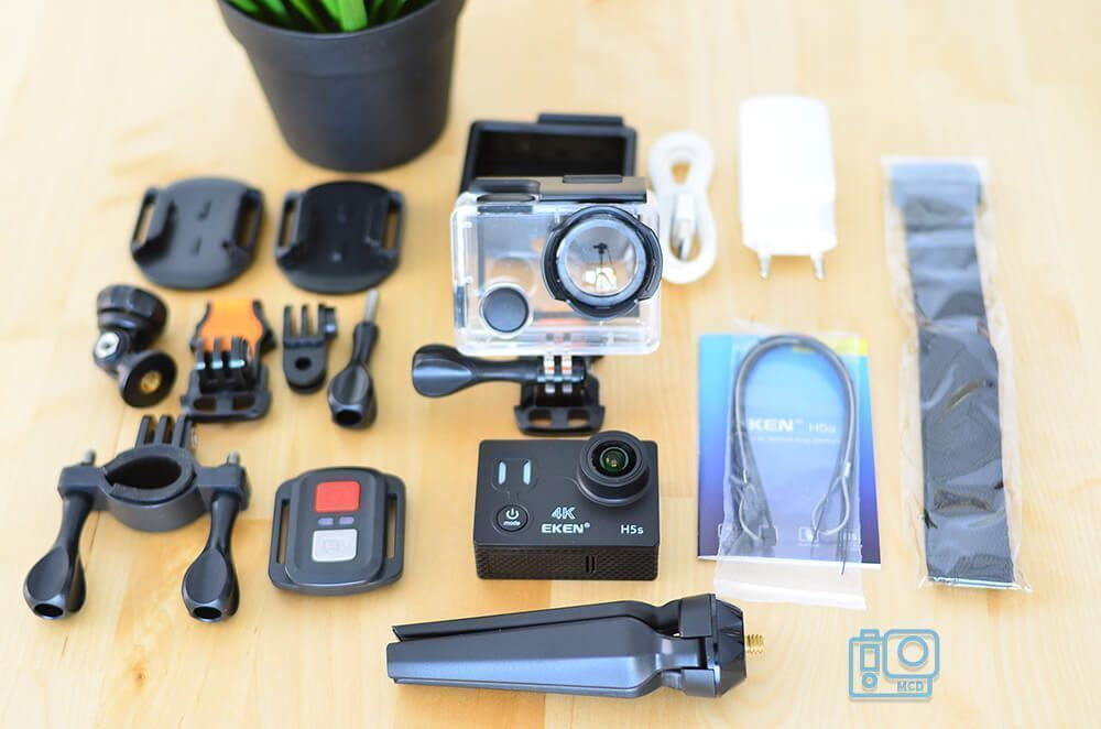 accesorios eken h5s 4k action camera