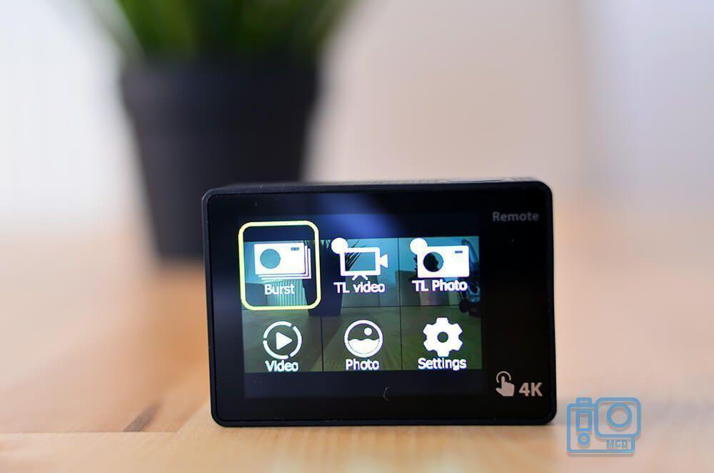 eken action camera h5s pantalla tactil