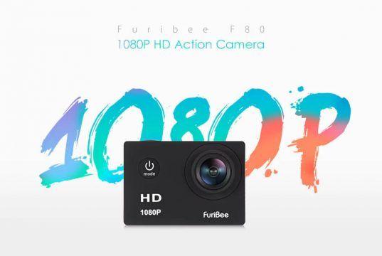 furibee f80 1080p action camera
