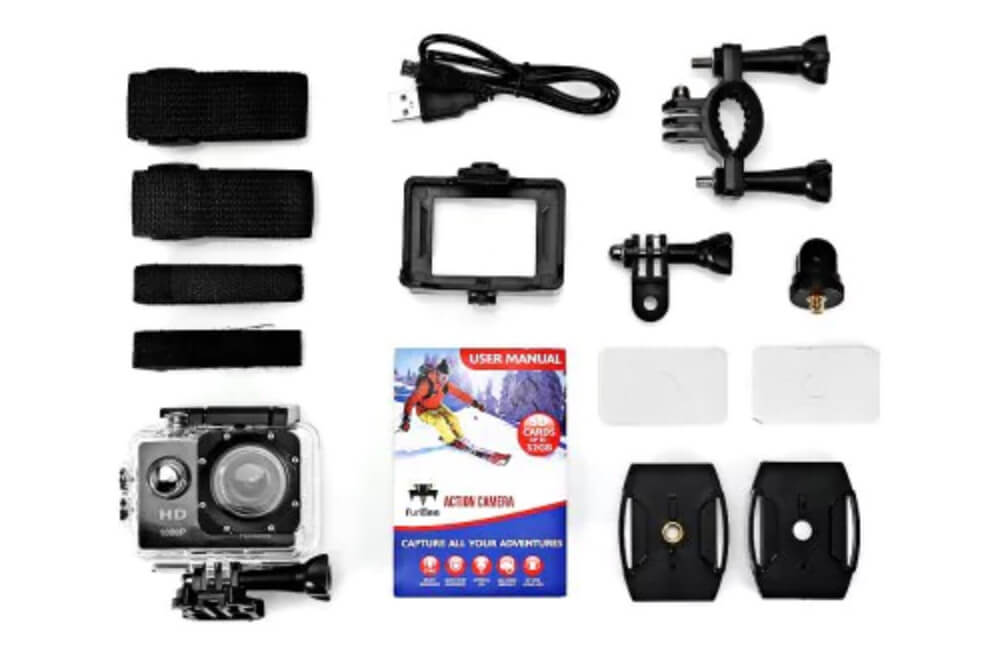 bateria furibee f80 sports cam 1080p