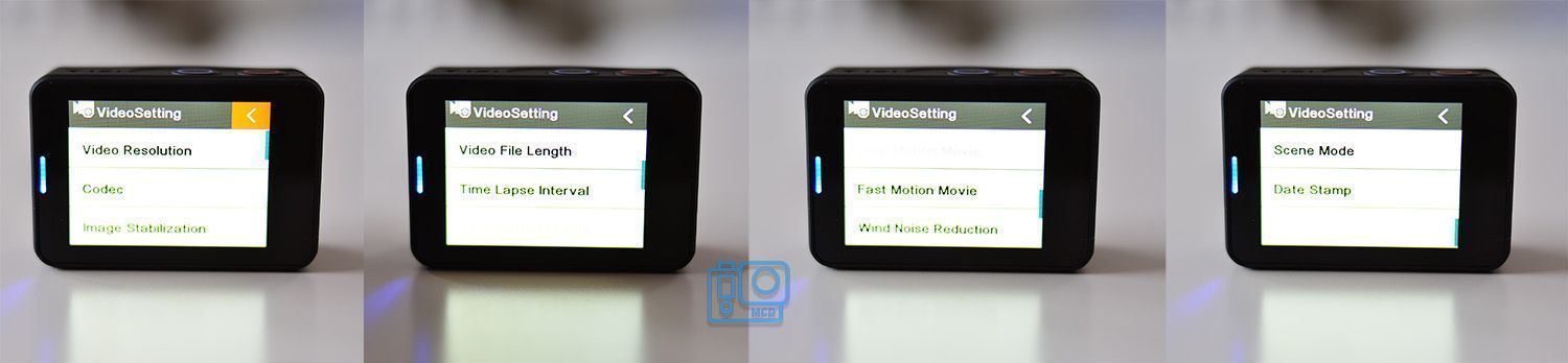 video settings mgcool explorer 3