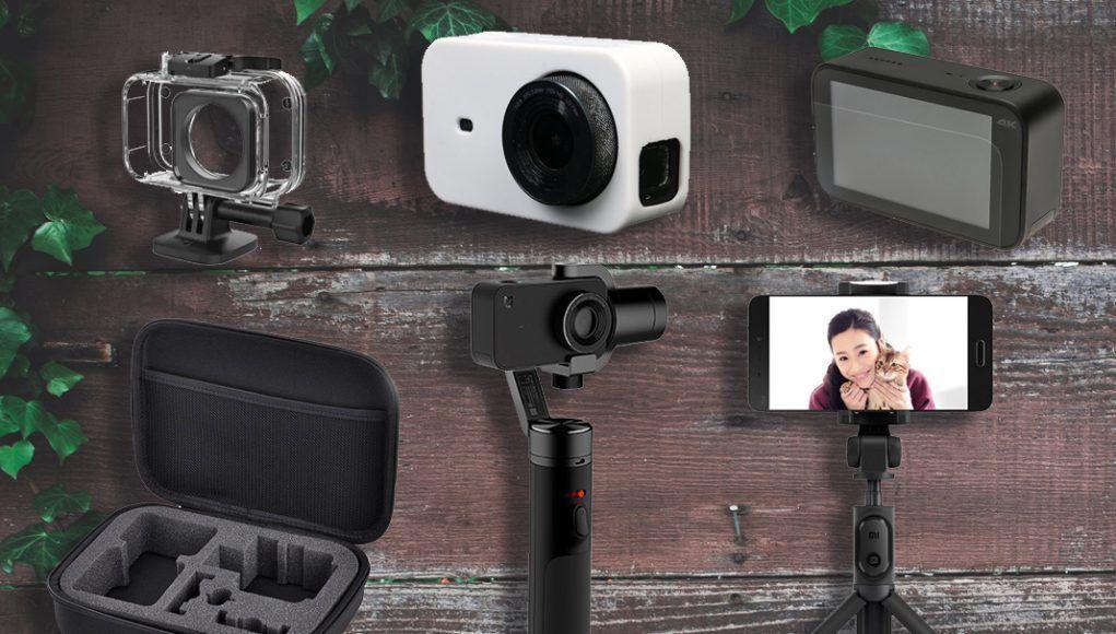 accesorios xiaomi mijia mi action camera 4k
