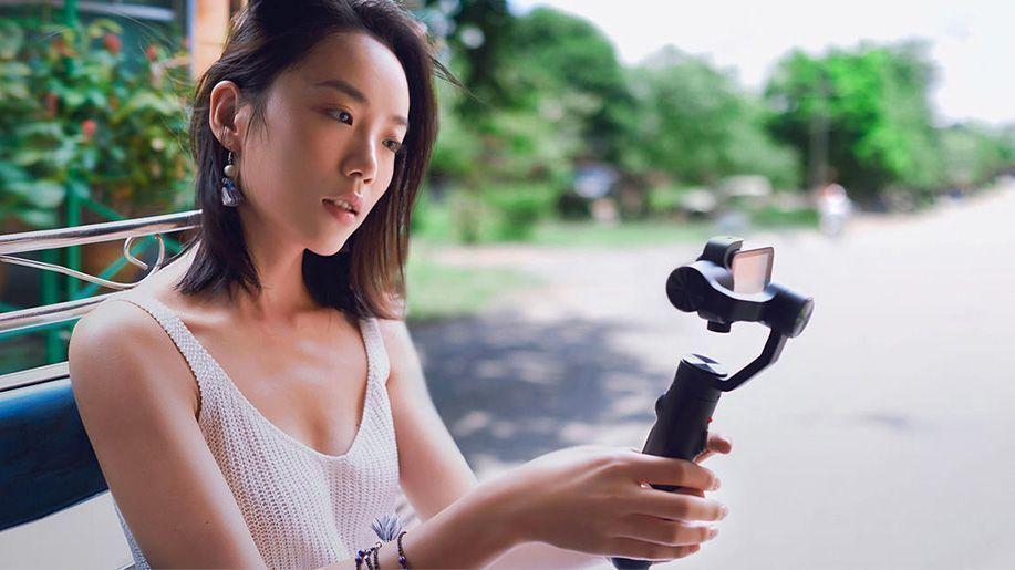 gimbal xiaomi mi action camera oficial