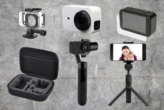 mejores accesorios xiaomi mijia 4k action camera