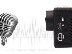 camaras deportivas microfonos externos