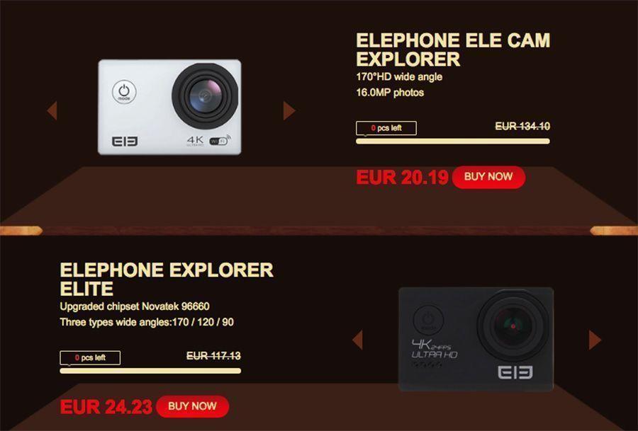 ofertas elephone elecam explorer