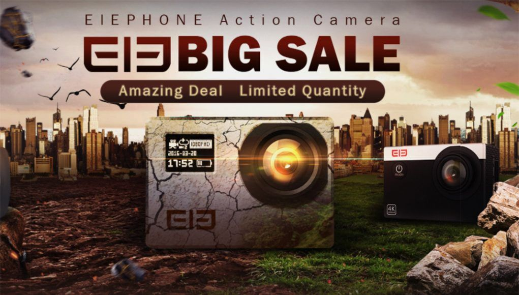oferta cámaras deportivas elephone explorer