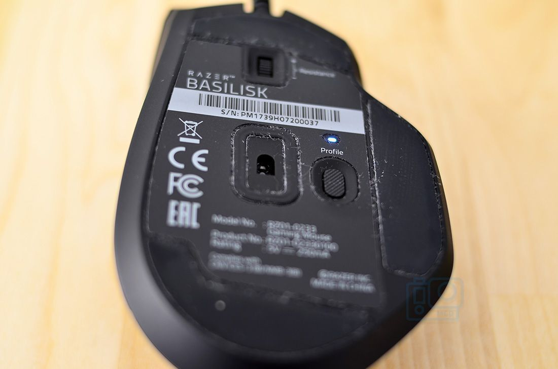 sensor razer basilisk