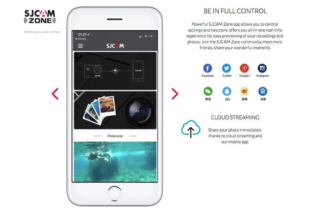 app sjcam sj8 air