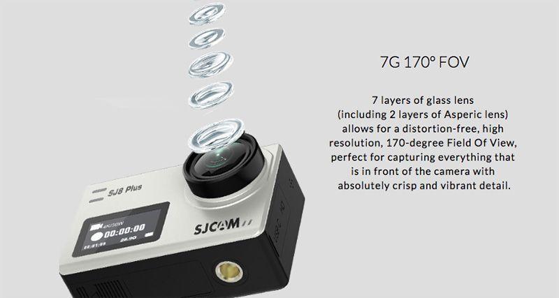 sensor sjcam sj8 plus