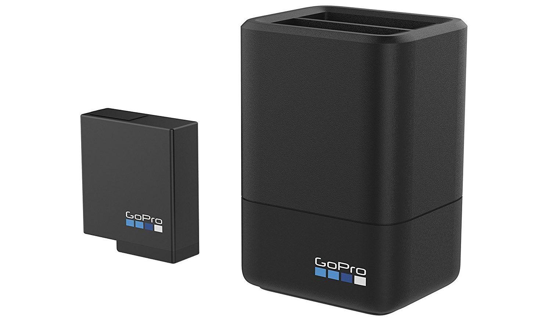 mejores accesorios gopro cargador dual + bateria