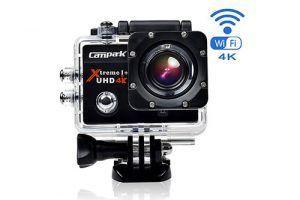 Campark act74 mejor cámara deportiva barata