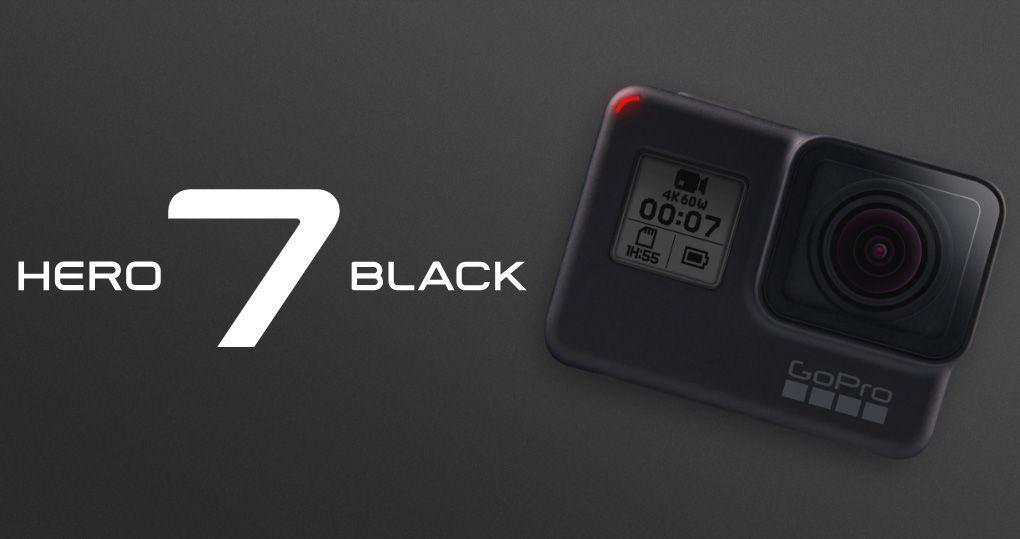 gopro hero 7 black mejores cámaras deportivas 2019