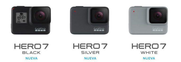 hero7 silver y white