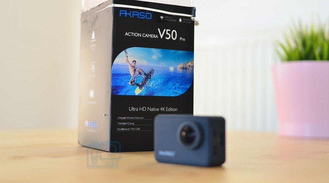 review akaso v50 español