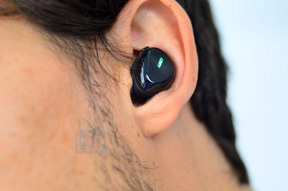 ergonomia aukey ept1 auriculares bluetooth