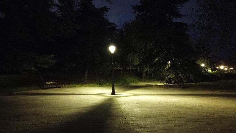 test fotografia nocturna osmo pocket